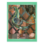 Modern Rooster Post Cards