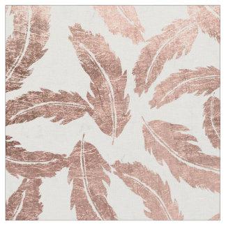 Rose Gold Pattern Fabric   Zazzle