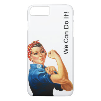 Modern Rosie the Riveter iPhone 8 Plus/7 Plus Case
