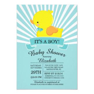 Duck Baby Shower Invitations Announcements Zazzle