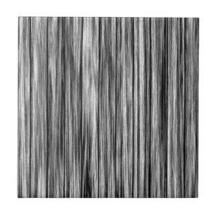 Modern Rustic Black Gray Wood Grain Pattern Ceramic Tile