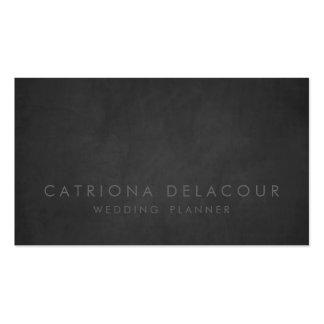 Modern Rustic Chalkboard Business Card
