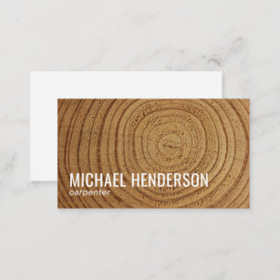 Wood business cards zazzle modern rustic wood carpentry professional business card reheart Image collections