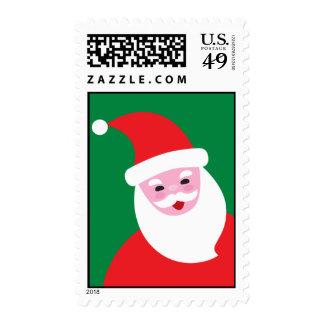 Modern Santa Postage