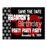 Modern Save the Date 30th Birthday Party R205 Post Cards