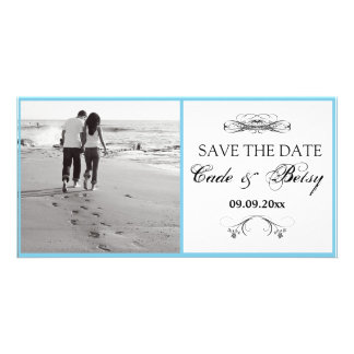 Modern Save-the-date Announcement Photo Picture Card