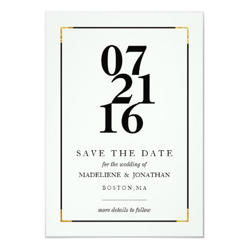 modern save the date announcements zazzle