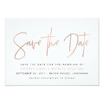 Modern Save the Date Announcements