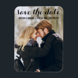 """Modern Save The Date Engagement Photo Magnet LB<br><div class=""""desc"""">Modern Save The Date Engagement Photo Magnet LB</div>"""