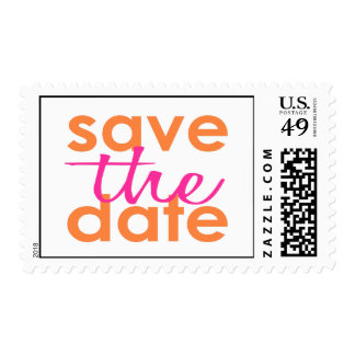 Modern Save the Date Stamp