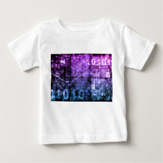 Modern Science Research and Engineering Design Art Baby T-Shirt