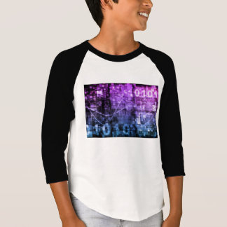 Modern Science Research and Engineering Design Art T-Shirt