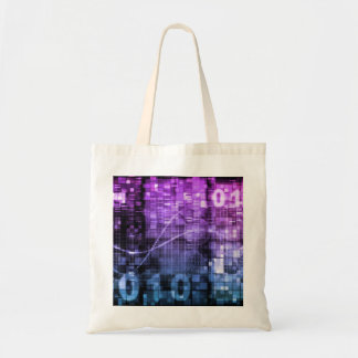 Modern Science Research and Engineering Design Art Tote Bag