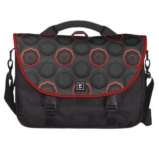 Modern SciFi Pattern Laptop Commuter Bag