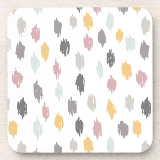 Modern Scribbles Coasters (Gray Mauve)