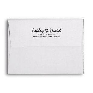 wedding envelopes zazzle