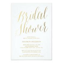Modern Script | Bridal Shower Invitation