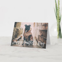 Modern Script | Happy Pawther's Day Card