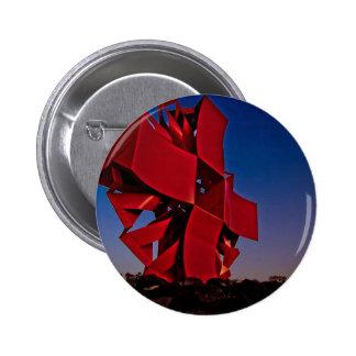 Modern sculpture button