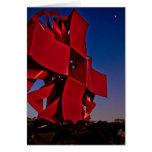 Modern sculpture cards