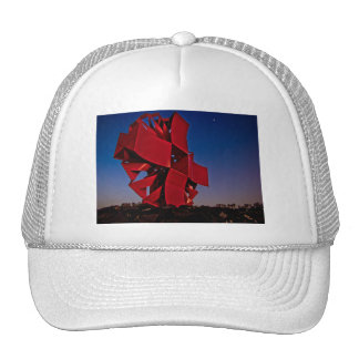 Modern sculpture trucker hat