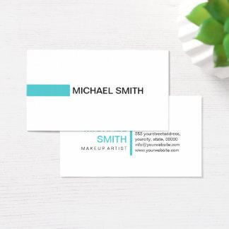 Modern Sea Serpent Professional Plain White Business Card