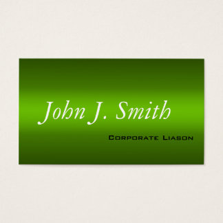 Modern Shades of Green Professional Business Cards