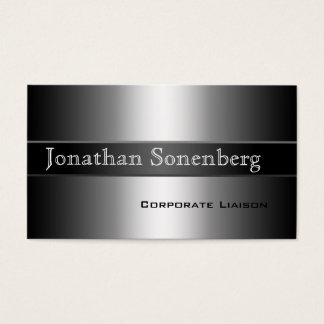 Modern Shades of Grey Professional Business Cards