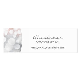 Etsy shop business cards templates zazzle for Handmade jewelry business cards
