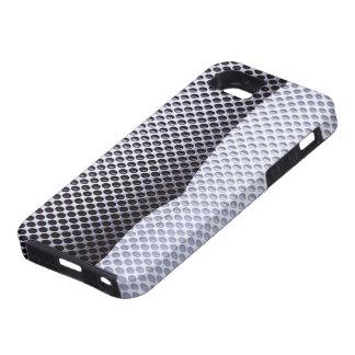 Modern Silver Metallic Curve iPhone 5 Cases