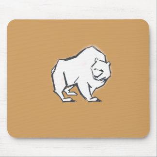 Modern, Simple & Beautiful Hand Drawn Bear Mouse Pad
