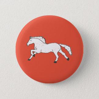 Modern, Simple & Beautiful Hand Drawn Horse Button