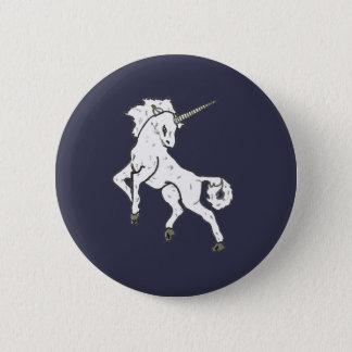 Modern, Simple & Beautiful Hand Drawn Unicorn Button
