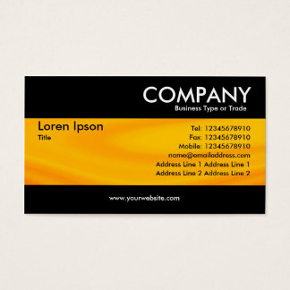Modern - Situation Orange Business Card