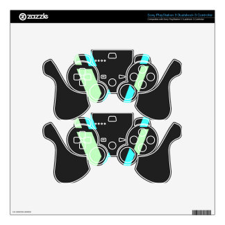Modern Skin For PS3 Controller