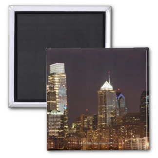 Modern skyscrapers of Philadelphia downtown Magnet