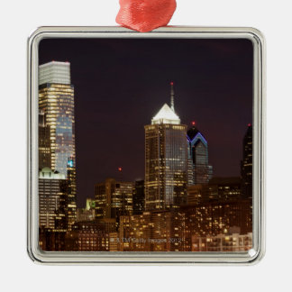 Modern skyscrapers of Philadelphia downtown Christmas Tree Ornament