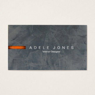Modern Slate Business Card