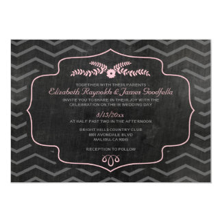 Modern Slate Wedding Invitations