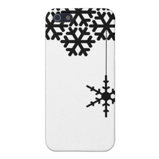 Modern Snow Flakes iPhone 5 Cases