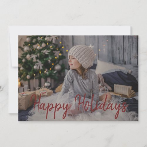 Modern Snowflake Striped Maroon and white holiday