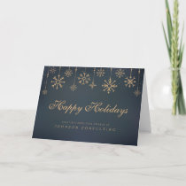 Modern Snowflakes | Holiday Greetings