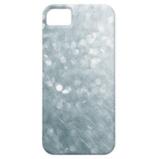 Modern Soft Focus Glitter Scratched iPhone Case iPhone 5 Cases