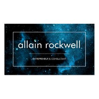 Modern Space Galaxy Business Card