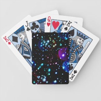 Modern Space Orbs Abstract Bicycle® Playing Cards