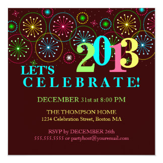 new years eve party invitations & announcements | zazzle, Party invitations