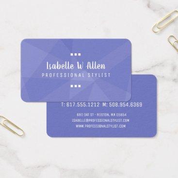 Professional Business Modern Splash of Geometric Colors Business Card