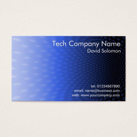 Modern Spots Vortex Design Business Card