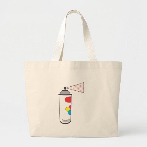 modern spray paint canvas bags