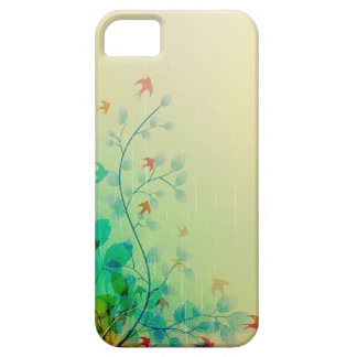 Modern Spring Floral Abstract Art iPhone 5 Case